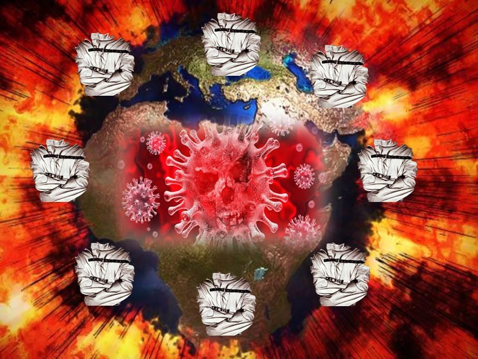Coronavirus il contagio dell'aberrazione umana