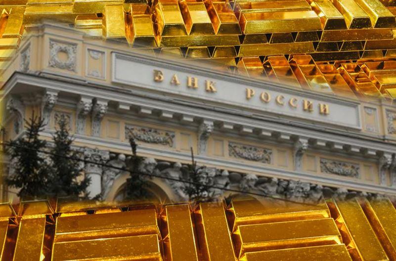 In Russia più oro che dollari nelle riserve della banca centrale