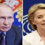 """Putin: 'Su prezzi dell'energia errori dell'Ue' """"La Russia non ha mai rifiutato di aumentare le forniture di gas all'Europa, se richiesto""""."""